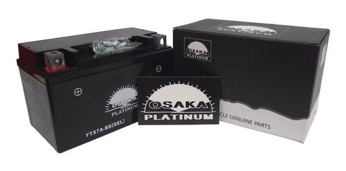 Bateria Osaka Ytx7a-bs Gel Motomel Custom 150 - Sti Motos