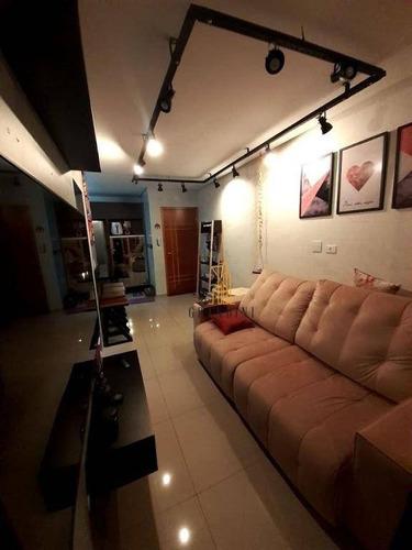Imagem 1 de 22 de Apartamento Com 2 Dormitórios À Venda, 50 M² Por R$ 371.000,00 - Vila Pires - Santo André/sp - Ap2283