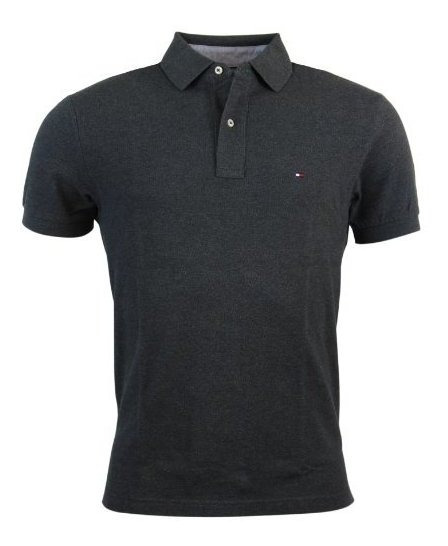 Tommy Hilfiger Mens Classic Fit Interlock Polo Shirt