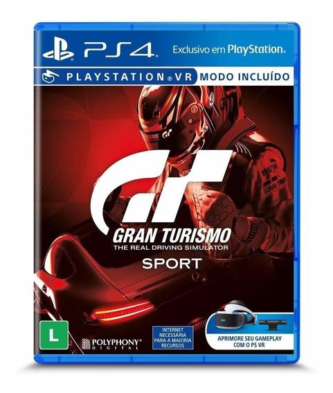 Gran Turismo Sport Gt Ps4 Blu-ray Lacrado
