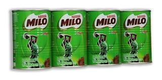 Chocolate En Polvo Milo 4 Piezas De 500 Gramos