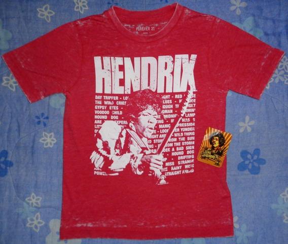 Jimi Hendrix - Playera Oficial (forever 21)