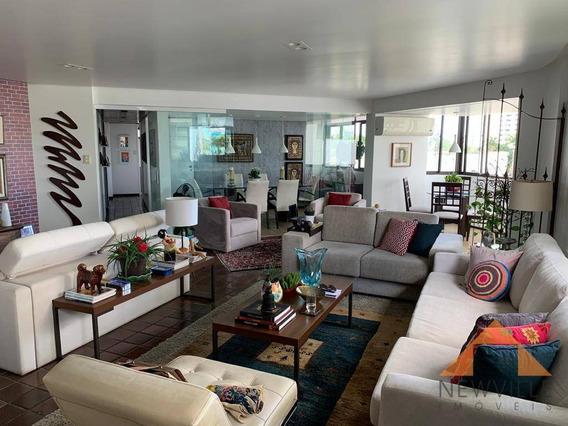 Apartamento Com 3 Quartos À Venda, 165 M² Por R$ 650.000 - Casa Forte - Recife/pe - Ap2170