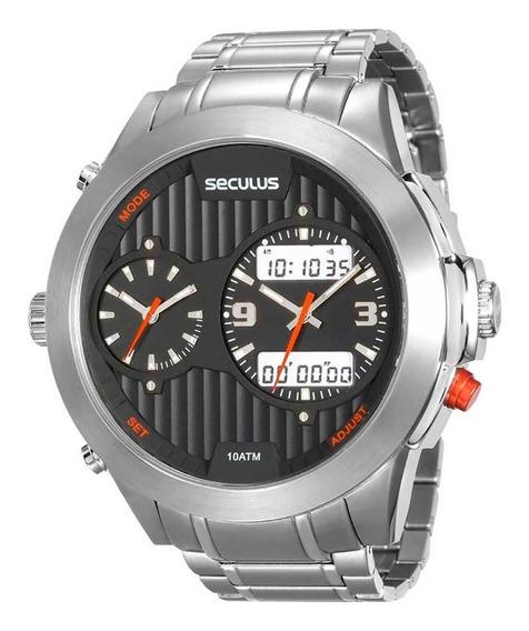 Relógio Seculus Masculino 20524g0svna1