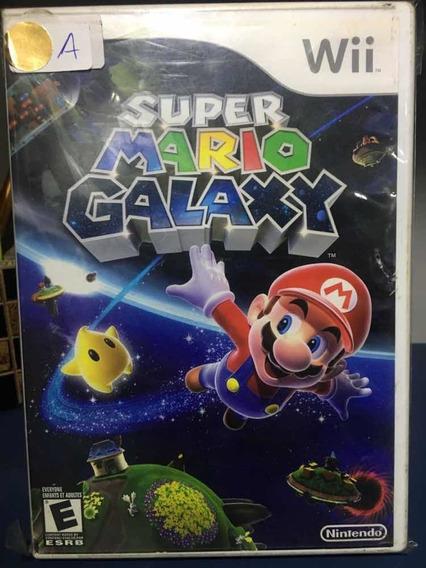 Super Mário Galaxy- Jogo Para Nintendo Wii Seminovo- Rf 75