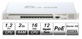Roteador Mikrotik Cloud Core Router Ccr1016-12g