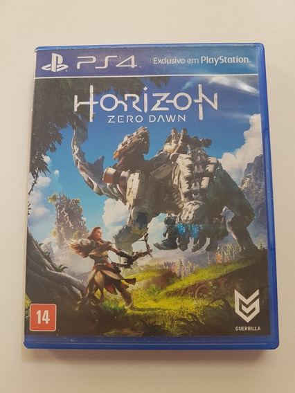 Horizon Zero Dawn Mídia Física Original Para Playstation 4