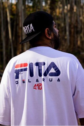 Imagem 1 de 2 de Camiseta Unissex Santa Calle
