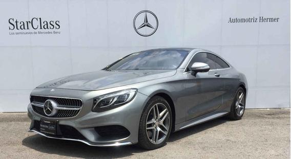 Mercedes-benz Clase S 2p S 500 Coupe V8/4.7/t Aut