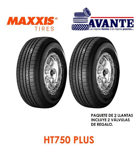 Llanta 255/70r16 Maxxis Ht750+ Plus111h Blk Oe ( Paq. 2 )
