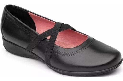 Zapato Flexi Flats Num 27 Mex Piel Súper Cómodos C82