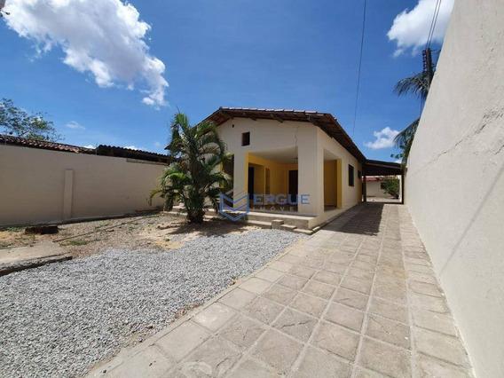 Casa Com 3 Dormitórios Para Alugar, 165 M² Por R$ 1.000,00/mês - Parque Potira - Caucaia/ce - Ca0368