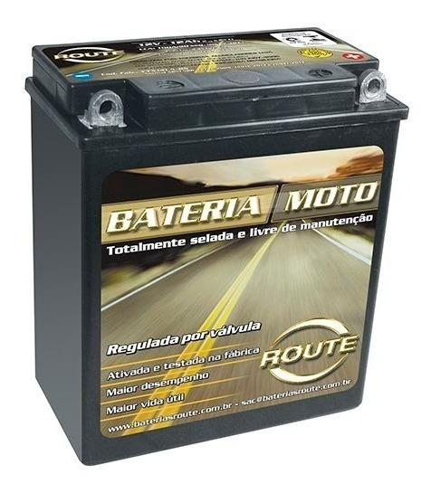Bateria Route Ytx 14la-bs (12ah) P/motos Bmw F650gs/g650gs