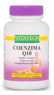 Coenzima Q10 Y Vit. C X 30 Caps. - Vitatech