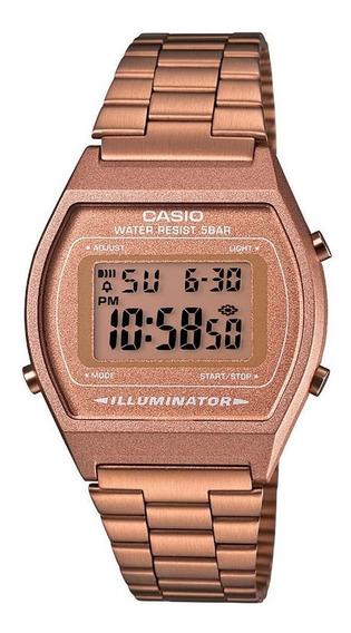 Relógio Casio Vintage Illuminator Rosê B640wc-5adf