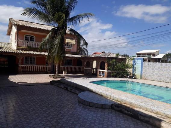 Casa Em Jardim Atlântico Leste (itaipuaçu), Maricá/rj De 286m² 4 Quartos À Venda Por R$ 350.000,00 - Ca489276