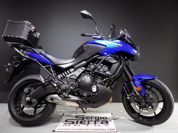 Kawasaki Versys650 Azul 2013