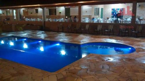 Chácara Com 2 Dormitórios À Venda, 1050 M² Por R$ 680.000,00 - Jardim Adélia Cavicchia Grotta - Limeira/sp - Ch0066