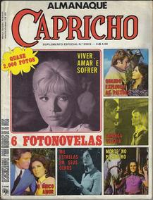 1973 Revista Almanaque Capricho Nº 330b Ed. Abril Fotonovela