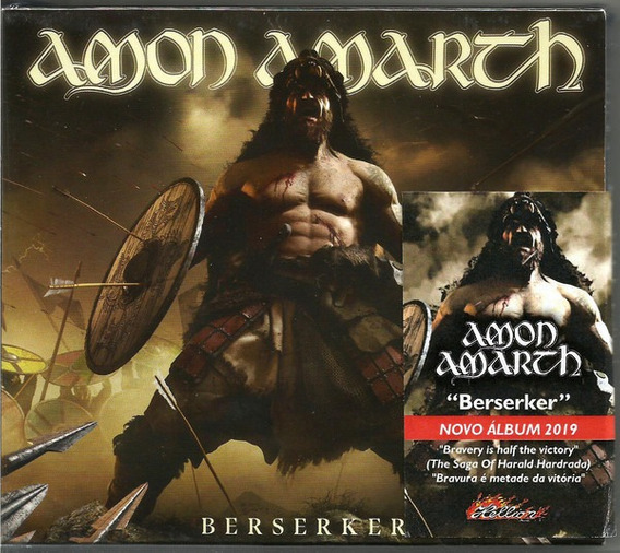 Cd Amon Amarth Berserker (slipcase)