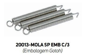 Kit C/ 3 Molas Gotoh Ps Made In Japan