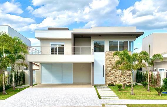 Casa Com 4 Dormitórios À Venda, 424 M² Por R$ 3.160.000 - Alphaville Dom Pedro - Campinas/sp - Ca0187