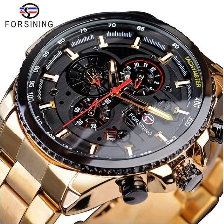 Relógio Forsining Automático Super Estiloso Top Original