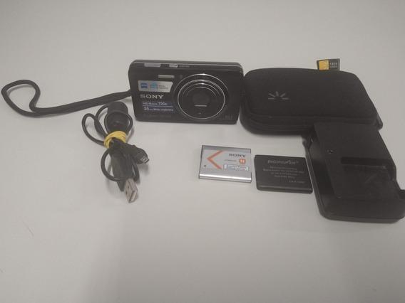 Máquina Fotográfica Digital Sony Cybershot Dsc-w650 16.1 Mp
