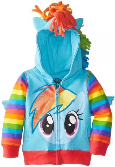 Sudaderas My Little Pony Azul Lila