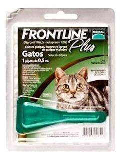 3 Pipetas Frontline Anti Pulgas Gato Hasta 3 Kg Envio Gratis