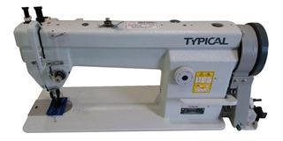 Máquina de coser industrial Typical GC66 blanca 220V