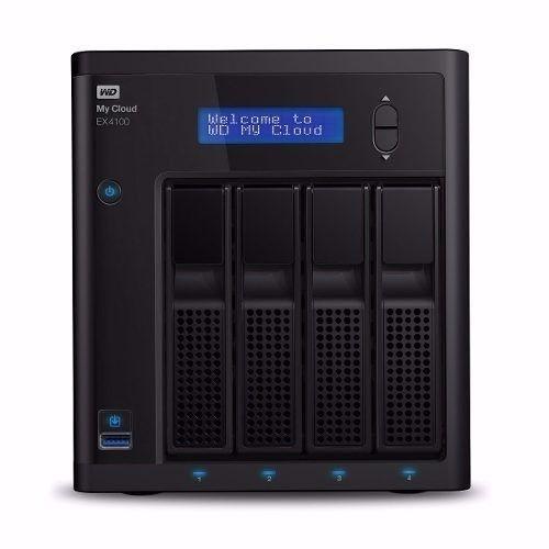Hd Western Digital My Cloud Ex4100 + 4 Hds Red 10tb - 40tb