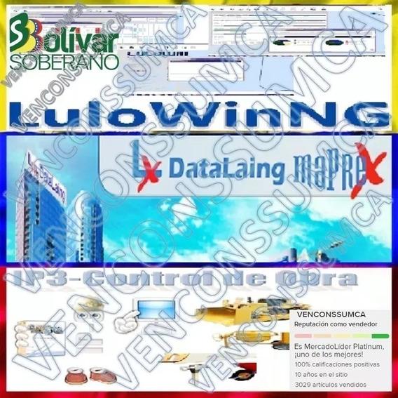 Bdd Guia Comercial Maprex, Lulong, Ip3, Lulo Mes Actual