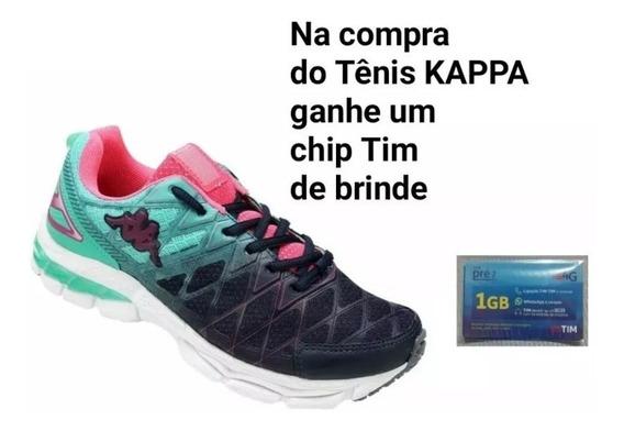 Tênis Feminino Ideal Para Caminhada. Marca Kappa. Original.