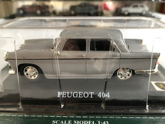 Miniatura Peugeot 404 Escala 1:43 Del Prado Lacrado