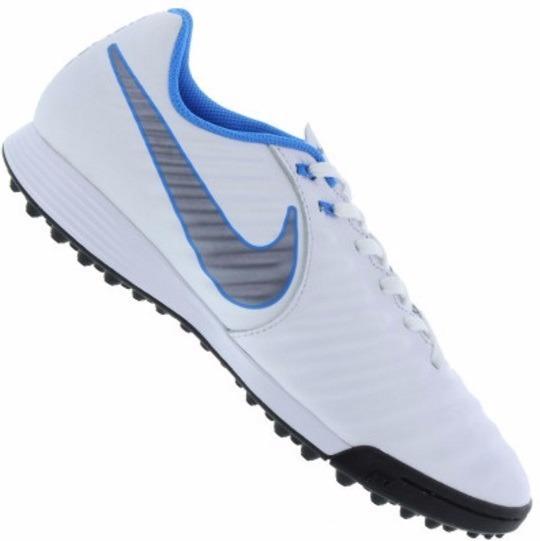 Chuteira Society Nike Tiempo Legend X 7 Academy Tf