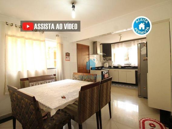 So0132- Sobrado Com 4 Dormitórios À Venda, 280 M² Por R$ 682.000 - Cidade Das Flores - Osasco/sp - So0132