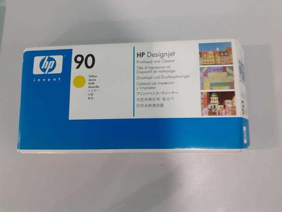 Cabeça De Impressão Hp 90 Yellow Original