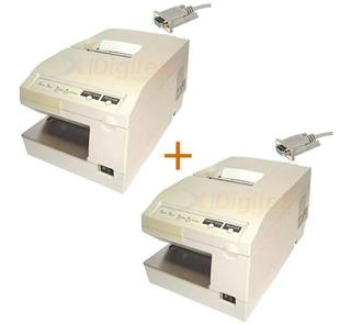 2u Impresoras Comanderas Epson Tm U 375 Tickeadora Garantía