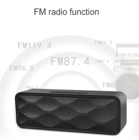 Mini Caixa De Som Bluetooth Ubit 5w Radio Fm / Sd/usb A4