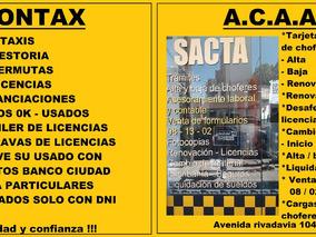 Licencia Taxi 2007 Desafectada $160000