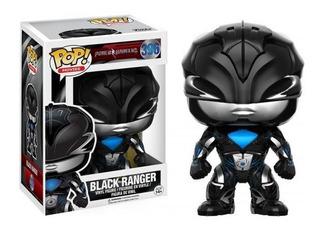 Funko Pop Power Ranger 396 Black Ranger Negro