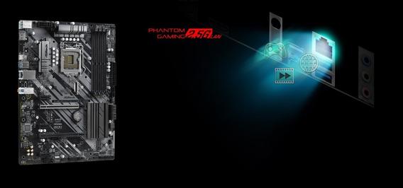 Mother Asrock Z490 Phantom 4/2.5g (1200) Gaming