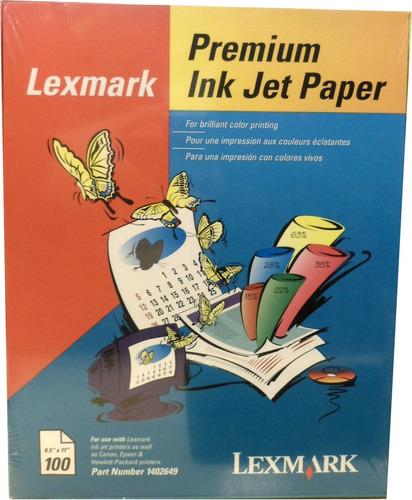 Papel Lexmark Carta Premium Mate Eeuu X100h E8020