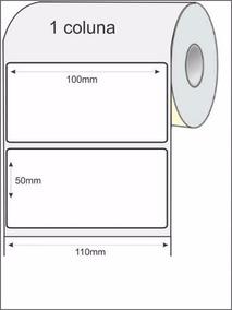 Etiqueta Impressora Elgin L42 - 10x5cm - 100x50mm - 700 Unid