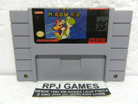 Super Mario World Original Salvando Snes Super Nintendo 39