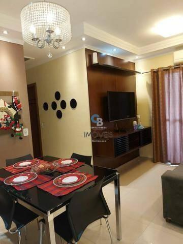Imagem 1 de 6 de Apartamento À Venda, 54 M² Por R$ 325.000,00 - Areia Branca - Santos/sp - Ap7442