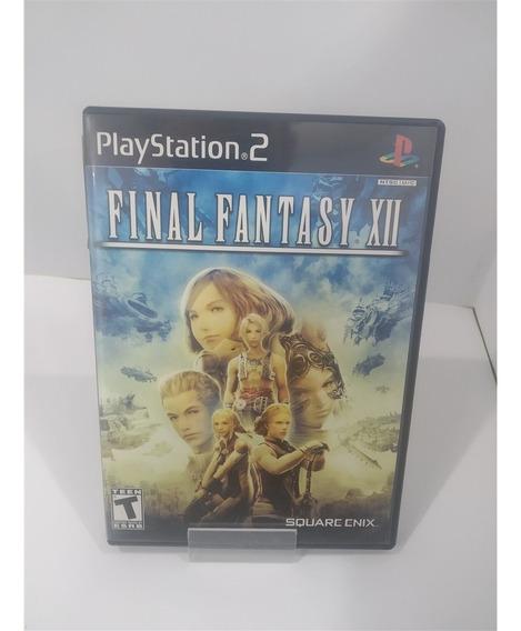 Final Fantasy Xii (seminovo) - Ps2 Usado