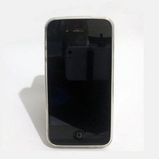 Case iPhone 4s Super Fino 0.3mm Silicone Com Proteção De...