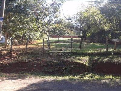 Terreno À Venda Em Mansões Santo Antônio - Te000958